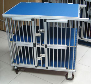 pet cage/aluminium dog trolley/dog cage - China Dog Cages suppliers