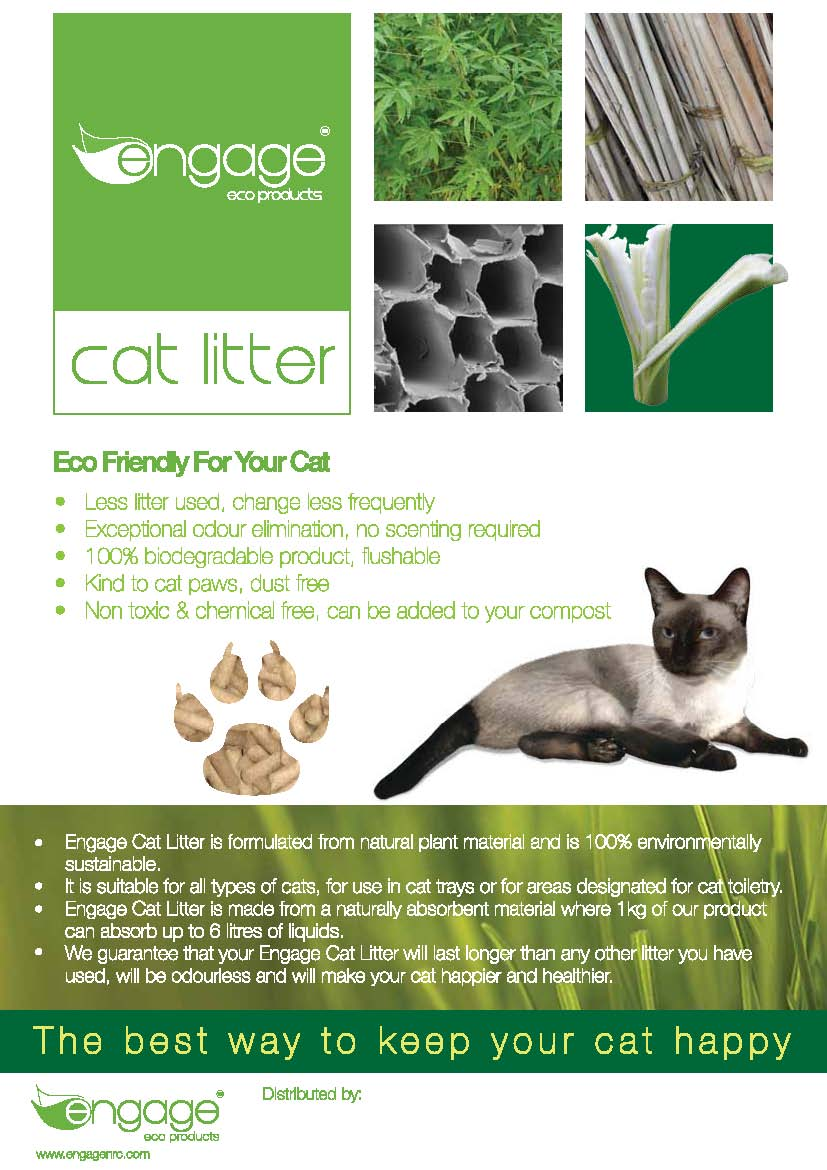 Engage Cat Litter