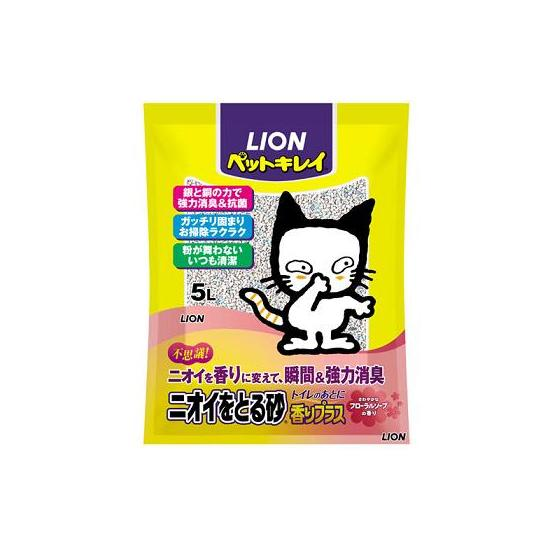 Cat litter 玆efreshing sand Aroma Plus Floral? 5 L