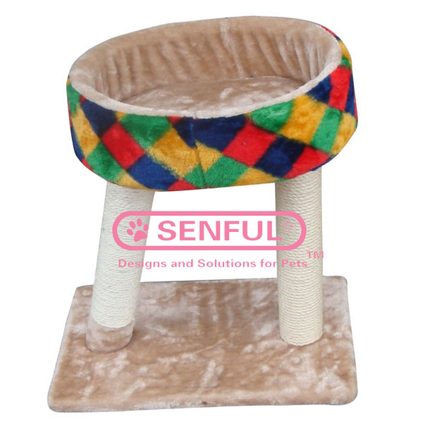 Luxury Cat Scratching Post Cat Tree Cat Bed