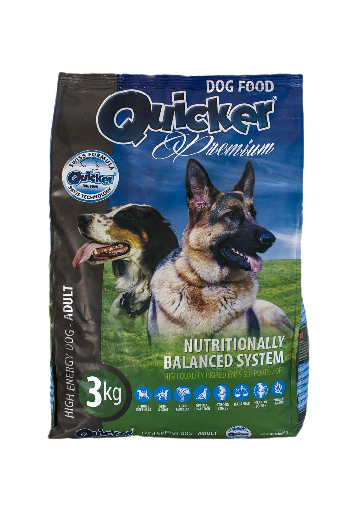 Quicker pets food