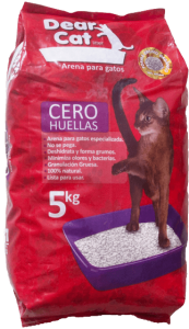Dear Cat CERO HUELLAS - bentonite