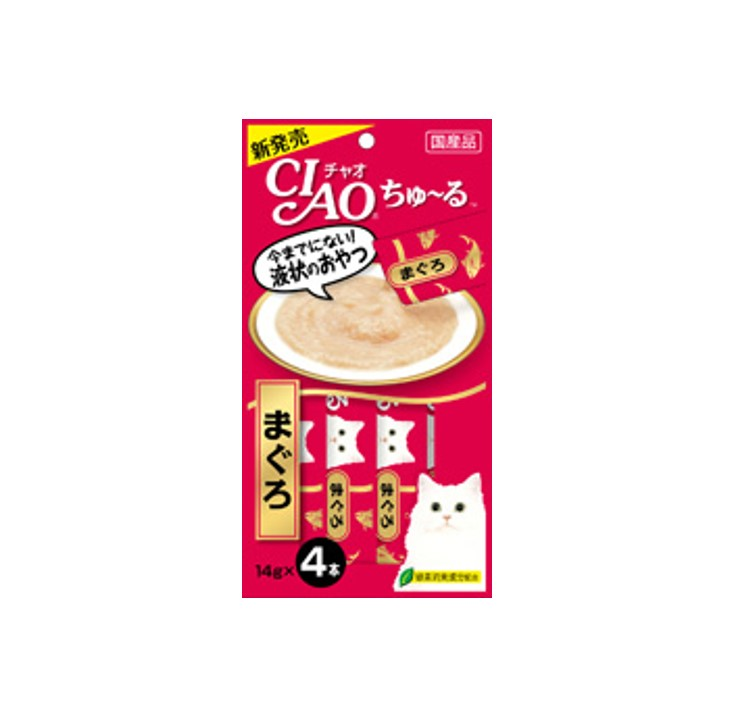 CIAO Chu-ru Tuna (Maguro) - Myanmar Cat Treats suppliers & manufacturers