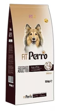 FITPerro Adult Dog Food Lamp & rice