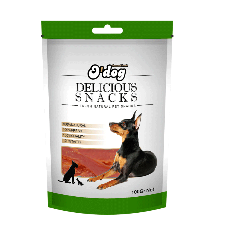 Wholesale Cheap Pet dog food treat duck jerky for training rewards
