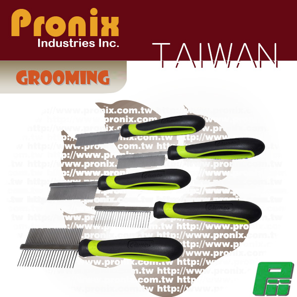Ergonomic Pet grooming comb