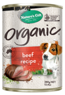 380g Organic Beef Canned Dog Food