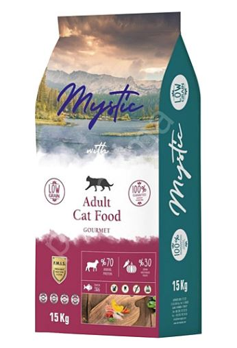 Mystic Adult Cat Food Gourmet (LOW GRAIN)