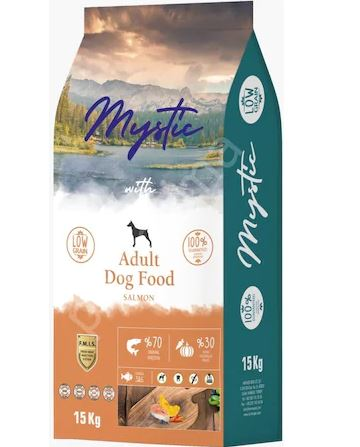 MYSTIC ADULT DOG FOOD SALMON