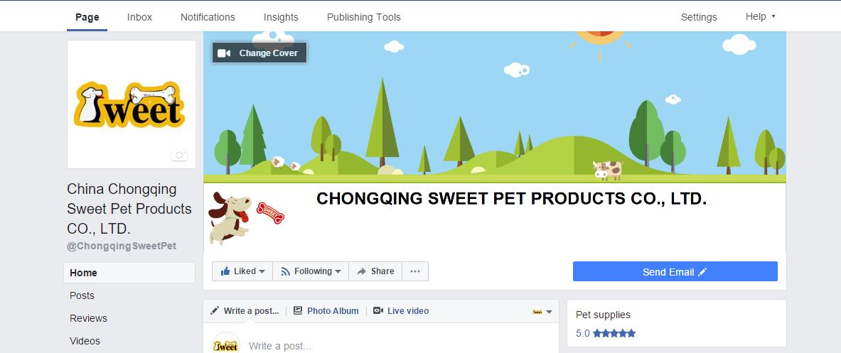 We have just created our facebook page! Give it a like if you are a dog lover like us!
