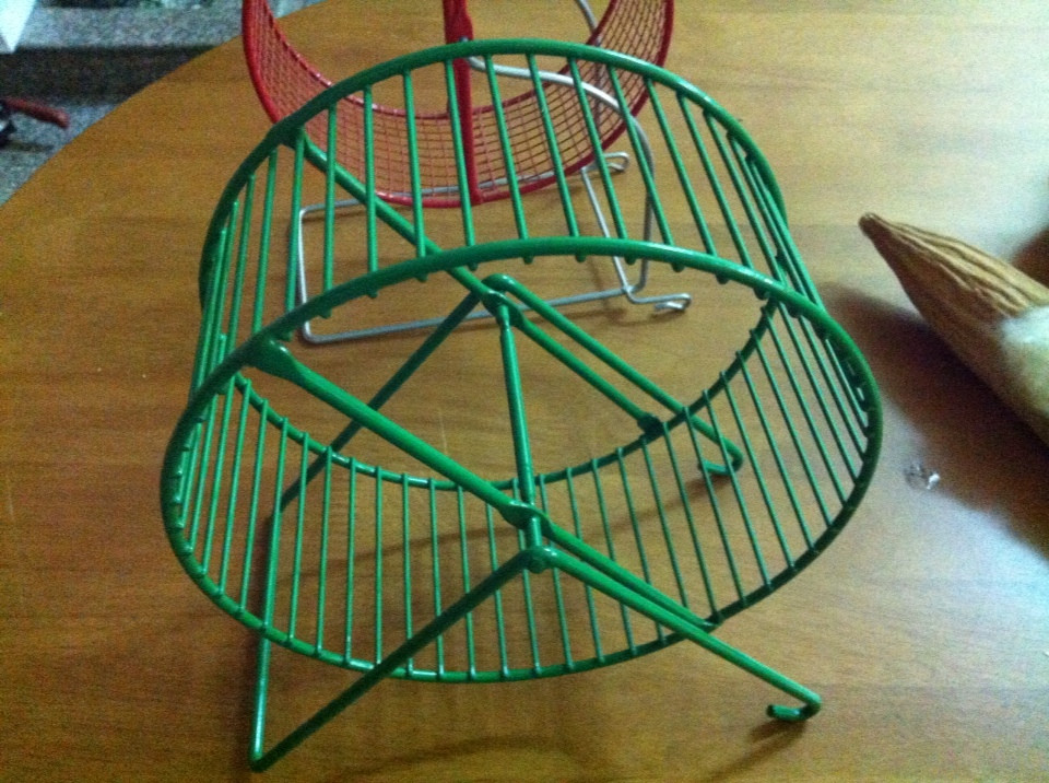 Exercise wheel for rats