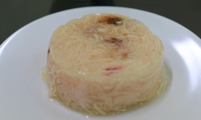 Chicken Breast with Tuna in Jelly