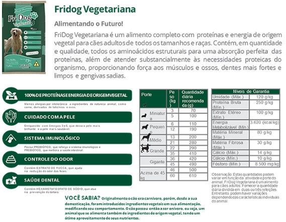 FreeDog Vegetarian Food for Dogs