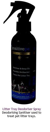 Litter Tray deodoriser spray