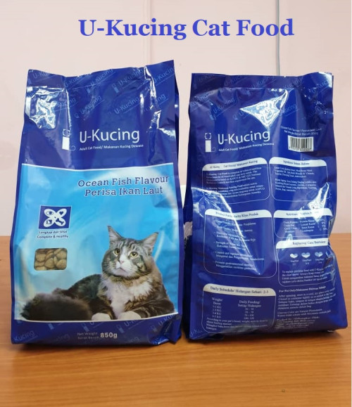 U-Kucing Dry Cat Food 850g