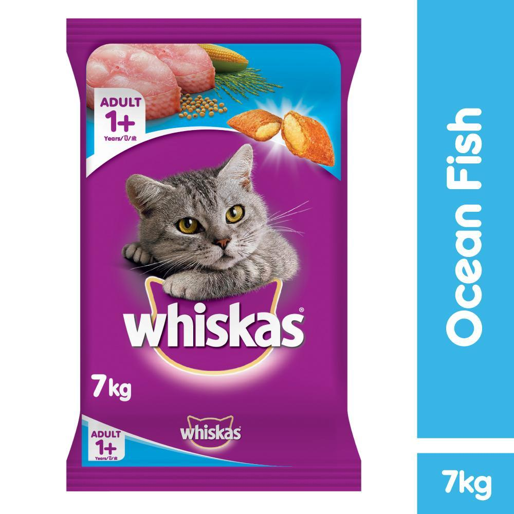 Dry Cat Food Products like Whiskas, Special, Cuties and Princess