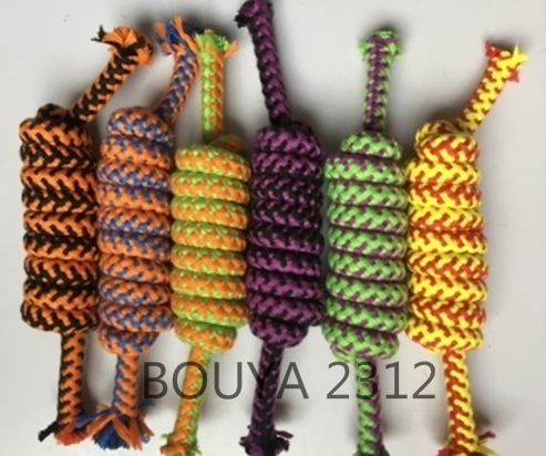 NEW PRODUCT RANGE: Clean dog teeth toy cotton rope knot shape 2312