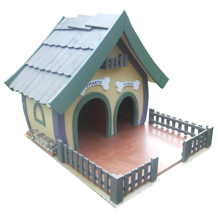 Duble PetFlat dog house