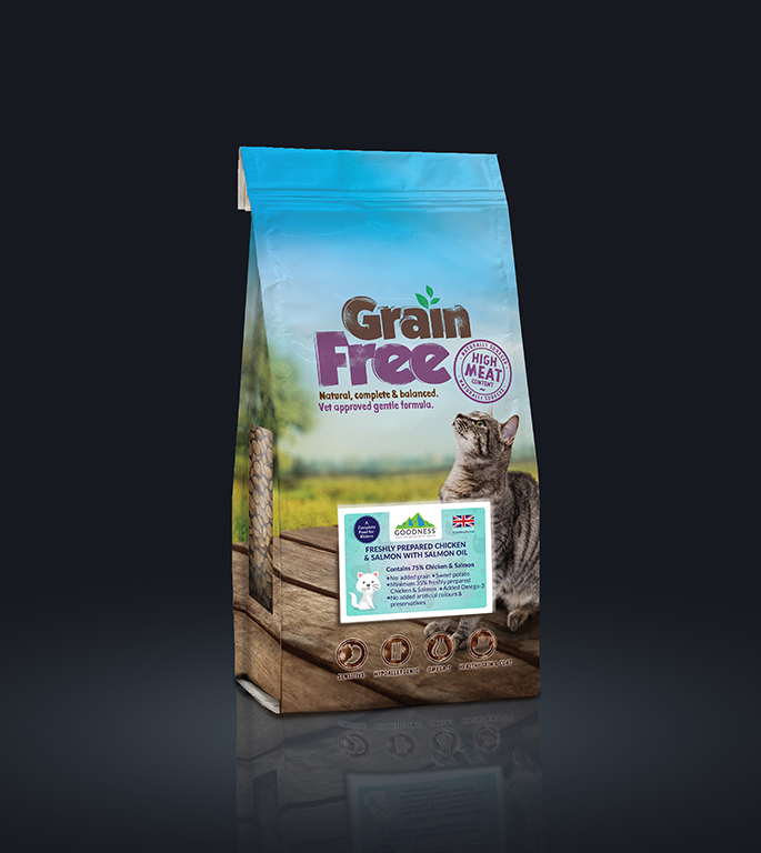 Goodness Grain Free Cat Food