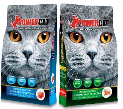 Powercat Fresh Ocean Tuna & Fresh Ocean Fish