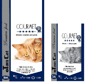TAM CAT GOURMET PREMIUM FOOD