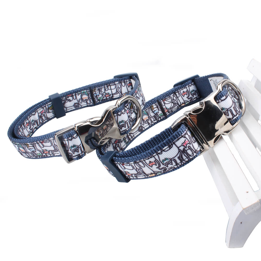 Custom Dog Collars: Sale Training Dog Collars Factory Wholesale With Metal Buckle-qqpets