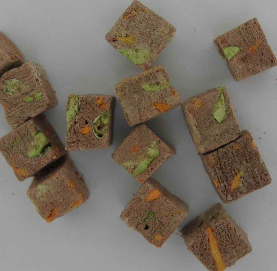 freeze dried beef liver&peas with carrot