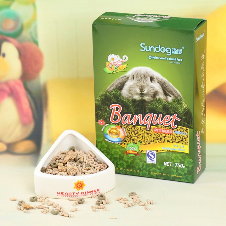 sundog premium food for adult rabbit