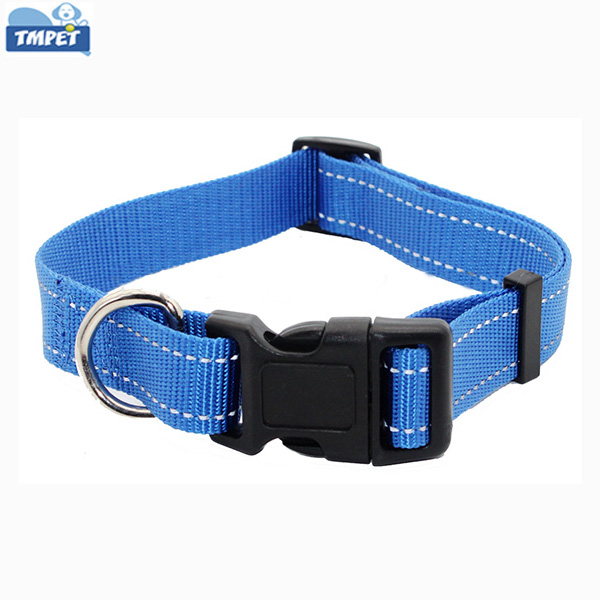 Custom Design Adjustable Nylon Dog Collar