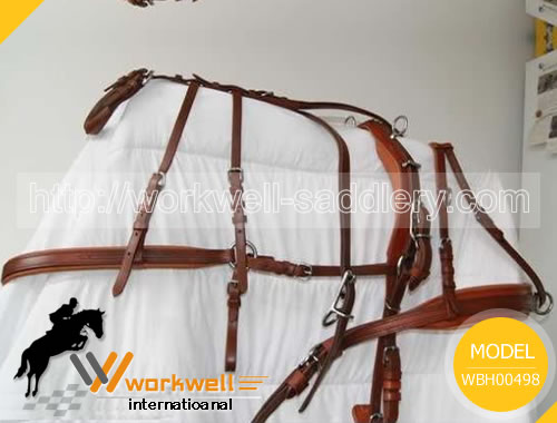 Buggy Harness, Made of Original Leather