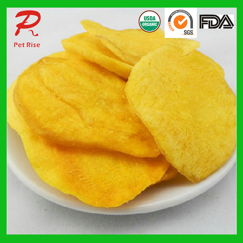 Pet Rise Vacuum Fried Sweet Potato Chips/Fries Dog Snacks